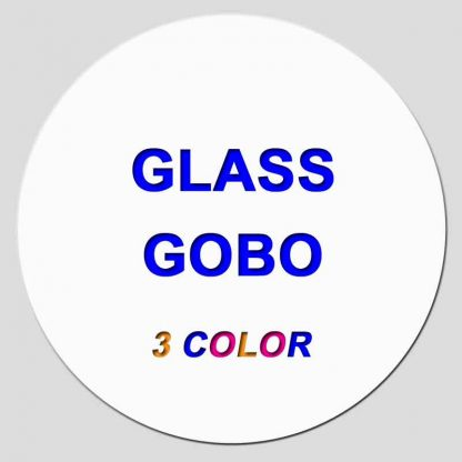 Glass Gobo Disc - 3 Color